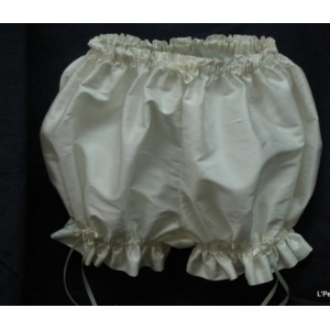 Ivory Silk Bloomers for Baptism
