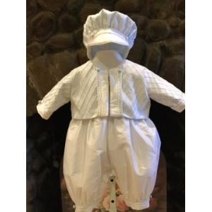 Christie Helene  Paul Richard Boys Christening Gown (6 MONTHS ONLY)