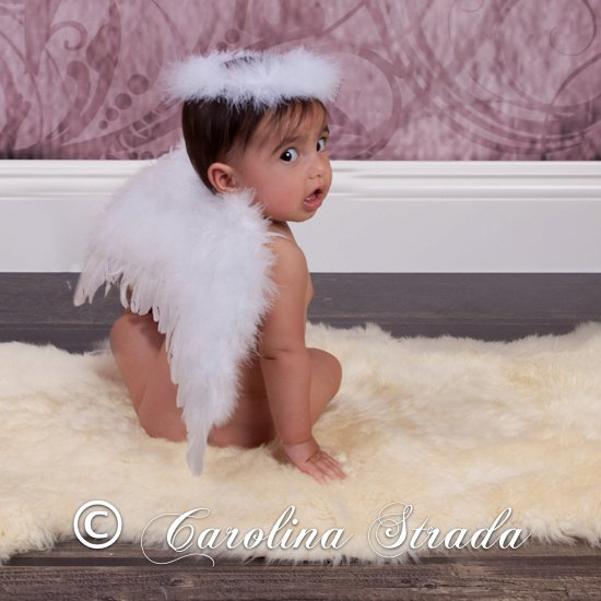 White Feather Angel Wings Amp Halo The Couture Baby