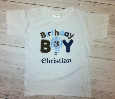 Birthday Boy Personalized Shirt