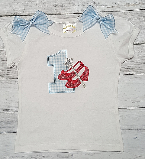 110240a52 Dorothy Red Glitter Shoes Personalized 1st Birthday Onesie or Shirt ...