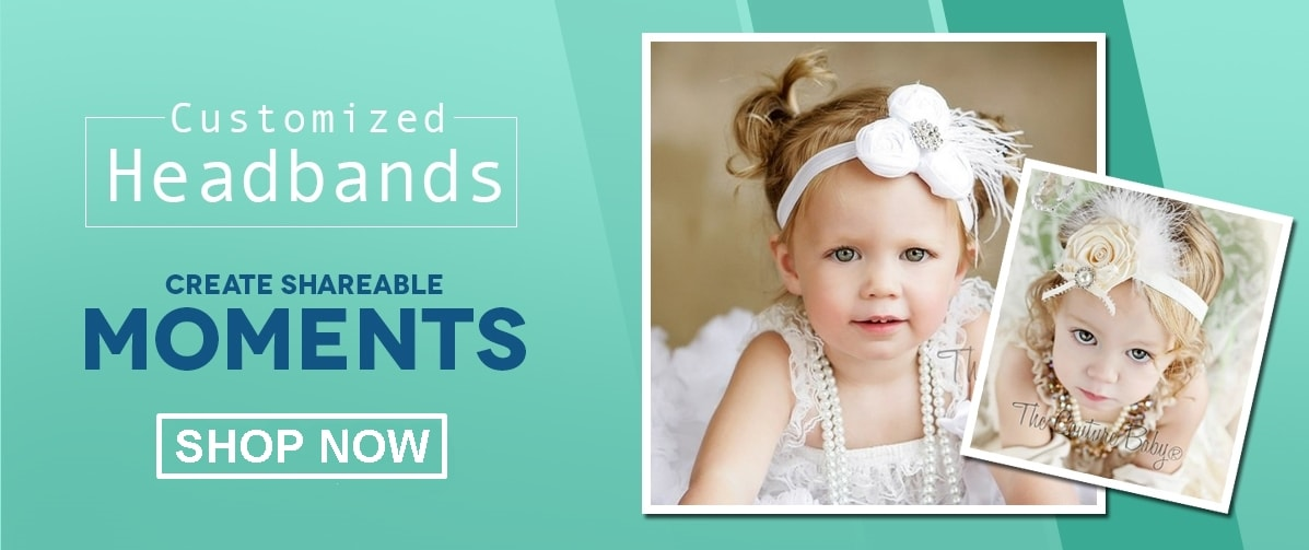 Girls Couture, Feather, Christening and Custom Headbands