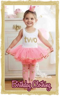 Baby, Toddler & Little Girl Birthday Clothing Personalized, Customized
