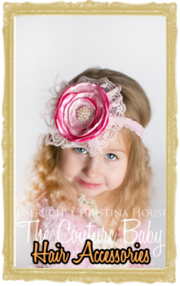 Baby, Toddler & Little Girl Hair Accessories - Bows,  Headbands, Tiaras, Hats
