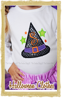 Custom Baby, Toddler and Little Girls & Boys Halloween Clothes Personalized