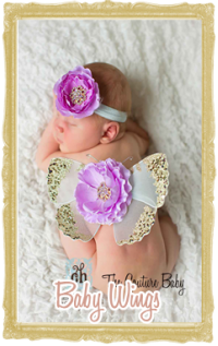 baby wings photo props