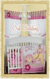 Custom Baby Crib Bedding Sets for Girls & Boys