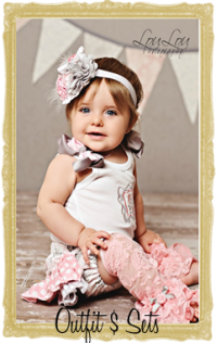 Baby, Toddler & Little Girl Outfits & Sets Personalized Custo