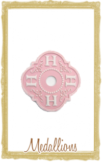Children's Chandelier Medallions - The Couture Baby & Child Boutique