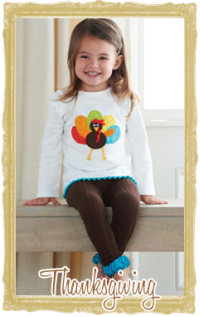 Baby, Toddler & Child Thanksgiving's Day Clothes for Girls & Boys Personalized Customized