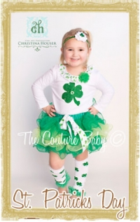 Baby, Toddler & Child St. Patrick's Day Clothes & Accessories Personalized Customized