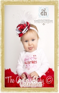 Baby, Toddler, & Child Valentine's Day Clothing & Accessories Personalized Customized