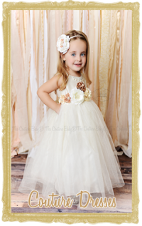 Baby, Toddler & Little Girl Couture Dresses