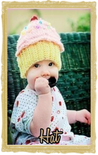 Baby, Toddler & Little Girl Couture Beanie, Personalized, Crochet Hats
