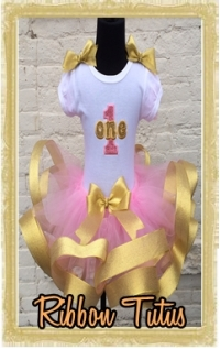 Baby, Toddler, & Little Girl Custom Ribbon Tutus