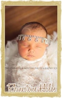 Rhinestone Halo Headbands