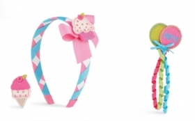 Birthday Snap Headband 3 pc. Set