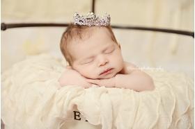 Lavender Sophia Rhinestone PrincessBaby Crown