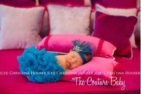 Turquoise Chiffon Petti Skirt