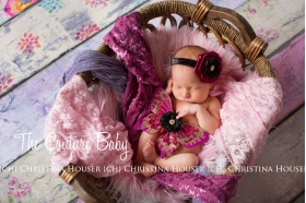 Shades of Fuchsia Glitter Butterfly Wings & Headband Photo Prop Set