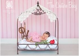 Princess & The Pea Baby Headband