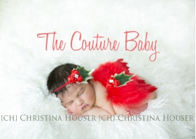 1st CHIRSTMAS BABY RED Holly Berry Newborn Red Feather Angel Wings & Headband Photo Prop Set