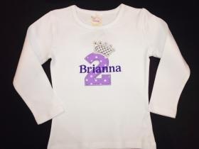 Sparkle Princess Personalized Birthday Shirt