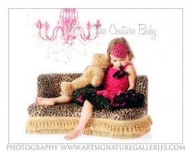 Hot Pink & Black Pettiskirt