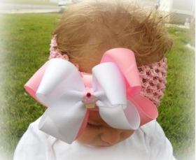 Cupcake Ribbon Headband