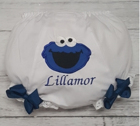 Cookie Monster Personalized Diaper Cover Bloomers