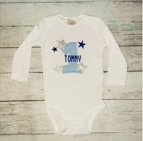 Twinkle Twinkle Little Star First Birthday Onesie or T Shirt