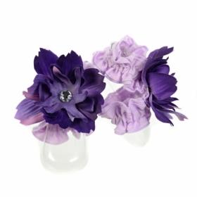Sugar Plum Purple Toe Blooms