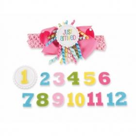Mud Pie® Monthly Milestone Headband Set
