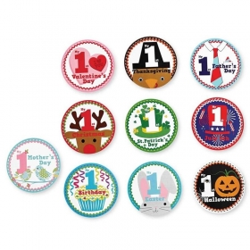 Mud Pie Special Occasion Milestone Stickers Set