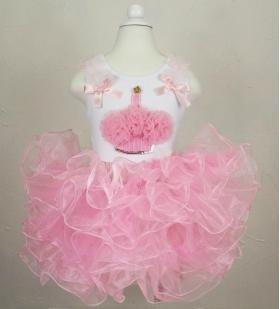 Pink Supreme Fluffy Tutu Cupcake Set
