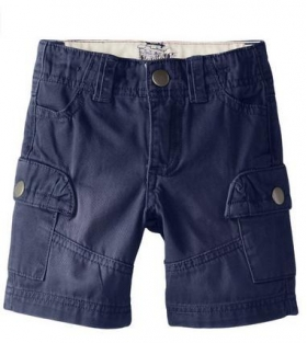 Boys Navy Club Cargo Shorts