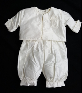 Travis Christening Outfit by Christie Helene