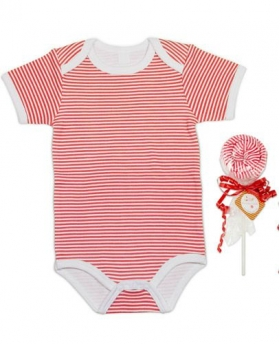 Red Lollipop Onesie
