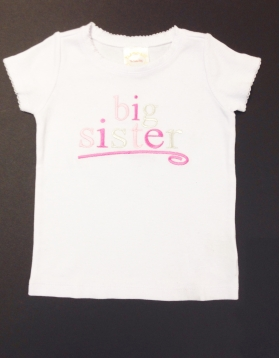Big Sister Custom Shirt
