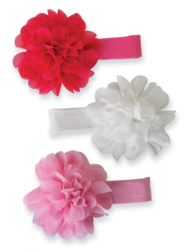Chiffon Flower Soft Headband