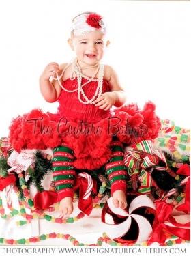 Merry Christmas Petti Romper & Pettiskirt