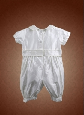 Travis Christening Outfit Back by Christie Helene