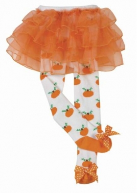 Lil Pumpkin Tutu Tights