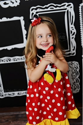 Disney Bound Minnie Dress