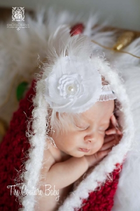 Dreaming of a White Christmas Headband