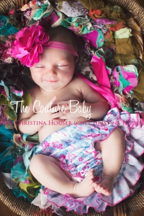 Colorful Floral Satin Diaper Cover