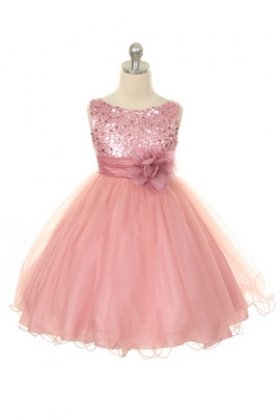 Pink Diva Sequin Dress