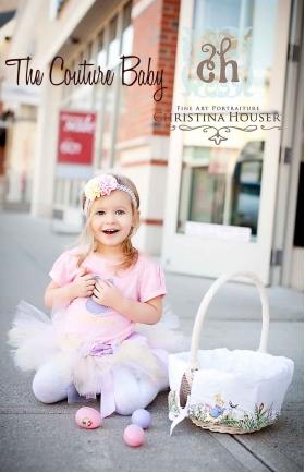 Pastel  Pink-Lavender & Yellow Easter Tutu