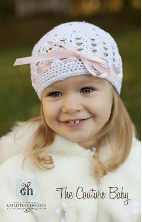 Lil Miss Fashion Rhinestone Hat