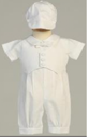 Swea Pea & Lilli Boys Christening Outfit (12-18 MONTHS ONLY)